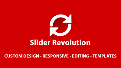Design and fix your slider revolution error