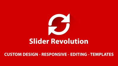 Design and fix your slider revolution error