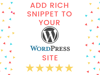 Add Rich Snippet on your WordPress Site