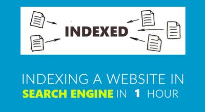 Index your website google and bing