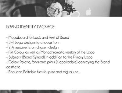 Design a unique Brand identity + logo with a competitive edge!