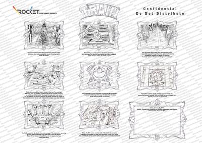 Create cartoon StoryBoards (Greyscale)