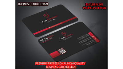 PREMIUM Professional High Quality BUSINESS CARD / ID CARD design