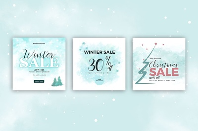 Design Christmas Banner or Social media post