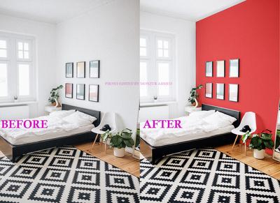 Real estate | Interior | Exterior photo edit(Maximum  30 Photos)