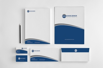 Design a premium bespoke stationery set for your business