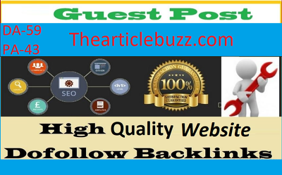 Write & Publish Guest Post on Thearticlebuzz.com DA- 59 Blog