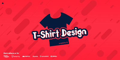 design a eye catching custom T-Shirt