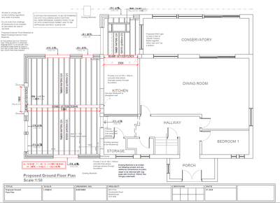 House Extension Design in compliance with Building Regulations