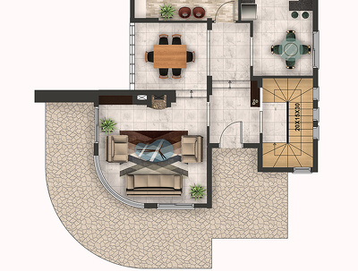 Render your 2D Floor Plans