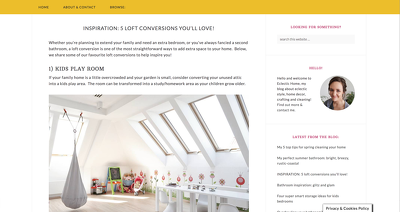 Write & publish a guest post on my blog (interiors, decor, DIY)