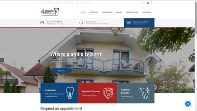 Build a modern and mobile-friendly dentist dental website
