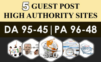 5 Guest Posts on High Authority Blogs with DoFollow Links