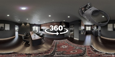 Render a 360° Panorama for your space