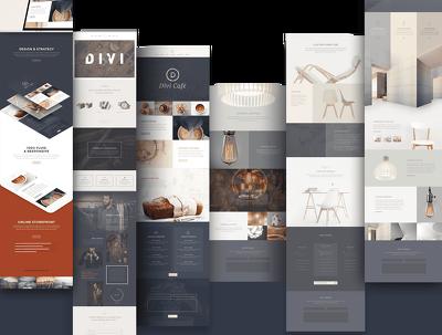 Wordpress website build with DIVI theme