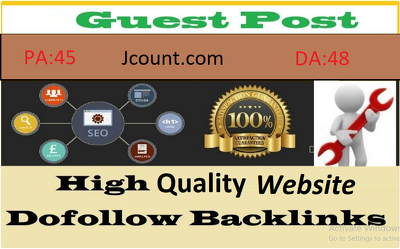 Write And Publish Guest Post On Jcount.com Tech Blog