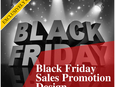 Black Friday Sales Promotion Design/or Any promotion design
