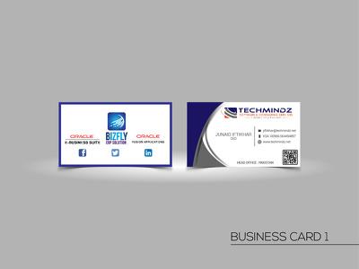 Design premium quality professional business card.