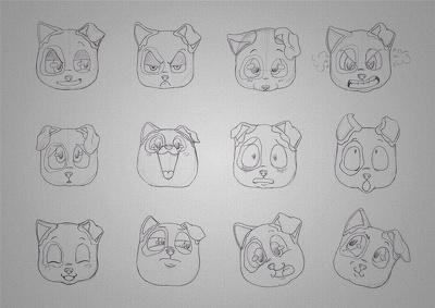 Create Rough Concept Sketches