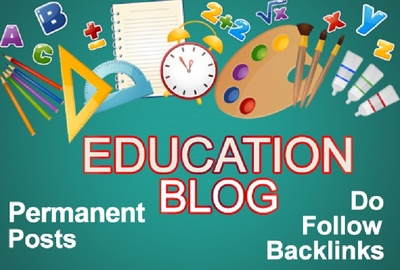 Education Guest Blog Post Available