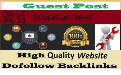 Qrite And Publish Guest Post On DA-54 Education News Blog
