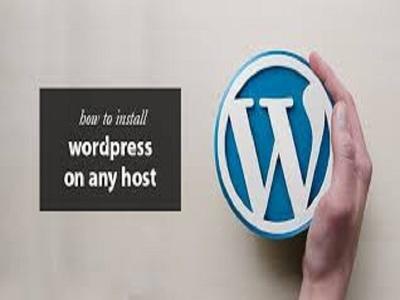 Install WordPress And Setup Plugins On Server