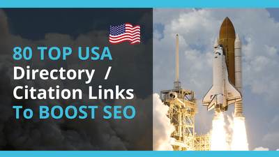 Deliver 80 TOP USA Directory  / Citation Links To BOOST SEO