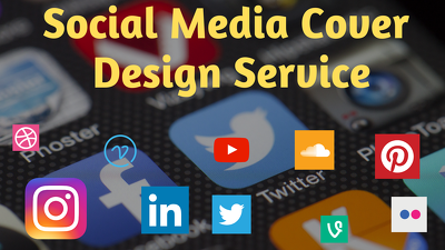 Social Media Cover Design for Facebook Twitter Instagram and all