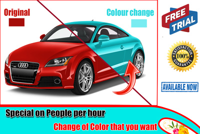Quickly change color of any object that you want