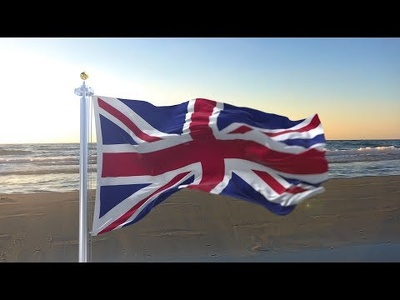 create realistic animated 3D Flag (10 seconds long)