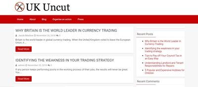 Publish a guest post on UKUncut - UKUncut.org.uk - DA55, PA63