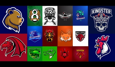 Make Spectacular Amazing Esport, Character, Gaming Logo Design