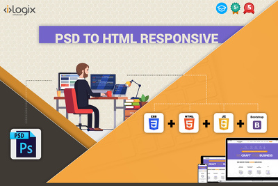 Provide PSD to HTML service at very affordable rate