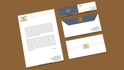 Erect clean And Professional Business Card Design