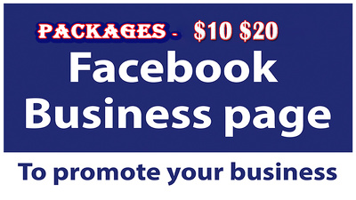 Create, Setup and Optomize Your Facebook Business Page