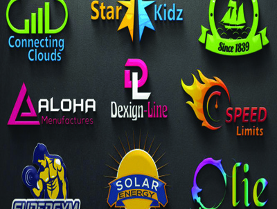 Design 2D image to 3D Logo Design and Architecture Design
