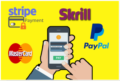 Integrate Stripe Payment Gateway Fix Error And Integrate Paypal