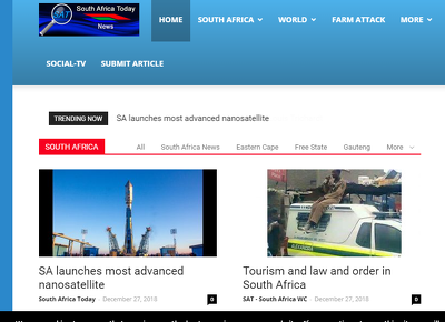 Write & Publish a guest post on Southafricatoday News Blog