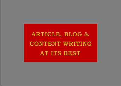 Write well researched & unique 500 words SEO articles, blog post