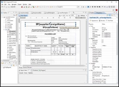 Develop Jasper reports With Jasper Studio Ireport