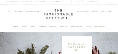 Guest post on TheFashionableHousewife.com - DA51, PA59