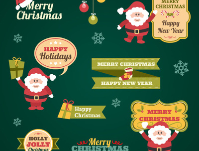Desing 2D - 3D Christmas Logo-Flyers-Greeting Cards in 12 Hrs