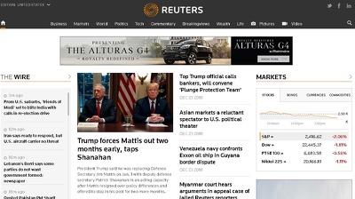 Write and Guest Post on REUTERS.com - DA 95 DF Link
