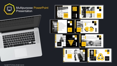 Design outstanding multipurpose powerpoint presentation