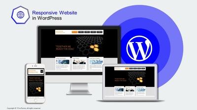 Design responsive website in Wordpress