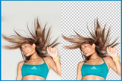 Make transparent background of 40 images
