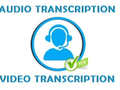Transcribe 60 minutes audio/video