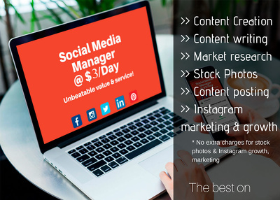 Be your professional social media marketig nmanager