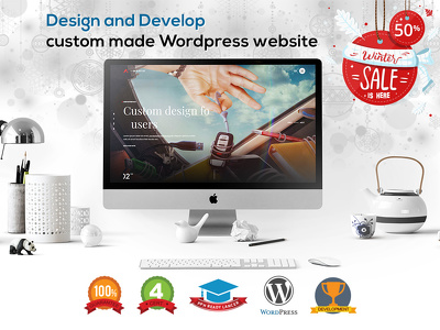 Design & Develop A HighPerforming SEO Optimised WordPress Site