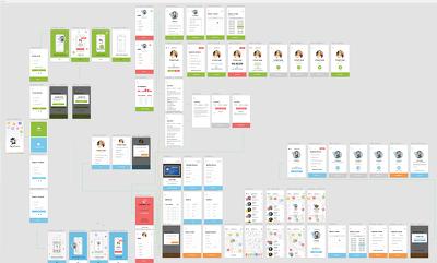 Design your mobile app or website mockups/wireframe